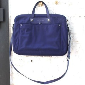 Marc by Marc Jacobs Navy Laptop Bag